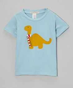 Take a look at this Blue Dino Tee - Infant, Toddler & Kids by Wonder Me on #zulily today!