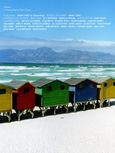 muizenberg, cape town, south africa by grant lyons