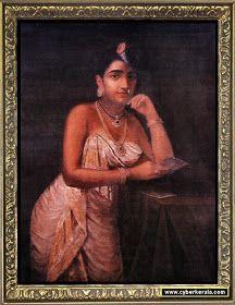 India's Best Collection: RAJA RAVI VARMA PAINTINGS Ravivarma Paintings, Paintings Famous, Indian Art Paintings, Pictures To Draw, Art Pictures, Photos, Raja Ravi Varma, Best Oils, Portrait Images