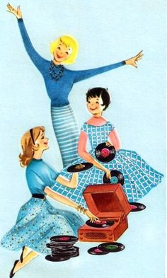 cute retro illustration Don't loose all those childhood memories! http://www.shoeboxsouvenirs.com/