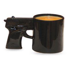 The Gun Mug | Novelty Concept