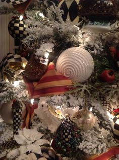 My Mackenzie-Childs Christmas tree
