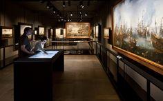 Het Scheepvaartmuseum, Amsterdam Permanent exhibition - Object Area, 2011
