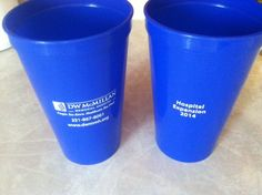 Cups for D.W. McMillan Memorial Hospital