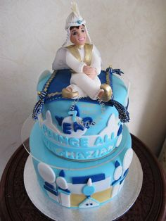 Image detail for -cake_princeali_disney_aladdin_cake Aladdin Cake, Aladdin Party, Arabian Nights Party, Pillow Cakes, My Son Birthday, Theme Cakes, Disney Cakes, Cake Board, Take The Cake