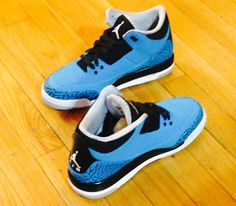 Air Jordan III-Powder Blue (January 2014) Release date