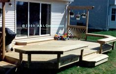 Simple Deck Designs | Deck Plans And Designs | Woodworking Project Plans
