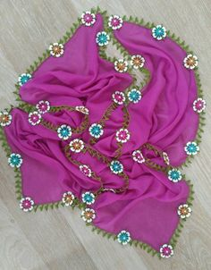Knit and Crochet Free Pattern Crochet Motifs, Crochet Borders, Knit Crochet, Knitted Poncho, Knitted Shawls, Knitting Socks, Baby Knitting, Knit Shoes, Moda Emo