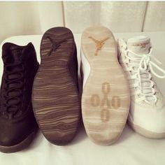 34e552260a1 Drake s Air Jordan 10 Retro OVO Stingray Edition Ovo Jordans