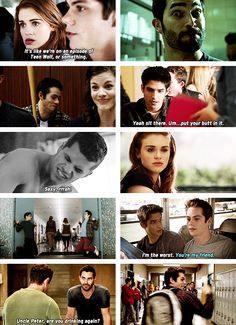Teen Wolf cast, season 3A bloopers