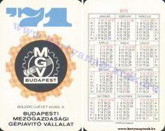 1971 - 1971_0303 - Régi magyar kártyanaptárak