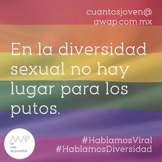 """""""#EsDeGay""""  Entiéndase """"puto"""" no como homosexual, sino como aquel que vive con miedo, odio y pocos huevos.  Idea creativa @reneanzorena Copy's @reneanzorena @tahusin @davichobandazza Artes @reneanzorena  #HablamosCliente #HablamosDigital #HablamosViral #HablamosDiseño  #creative #true #awappers #digitalmarketing #digitalagency #mexico #df #designPorn #AWAP #html #css #responsivo #OnlineReputation #marketingdigital #agenciadigital"""