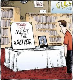 """Meet the eAuthor."" Nope! My way is so much better!! www.facebook.com/beyondthepagewbc Join us each month and meet the ""real"" author....:)"