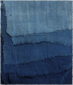 Indigo [From a post about a potential quilt made of old jeans.] blue