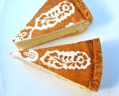 Cinnamon-Stencilled Cheesecake | Scrumptious South Africa