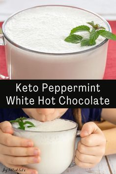 My favorite thing about cold weather is hot chocolate. Any hot chocolate is rich and delicious. But a super-indulgent splurge is my Peppermint White Hot Chocolate. This is basically an entire dessert in a mug that you sip slowly and savor.