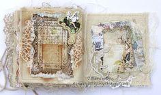 Tiffanys Paper Designs: Canvas Mini Album. stampingattiffanys.blogspot