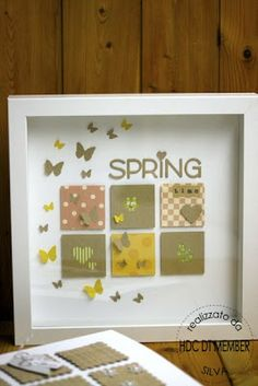 Hobby di Carta - Il blog: HOME DECOR: Spring Time by SIlva