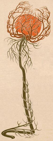 H. Nisle, Jugend magazine, 1901. Via.