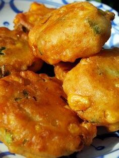 Haitian Fritters: Enjoy this special appetizer recipe. Don't eat too much of them as that fill you up pretty quickly.