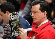 Stephen Colbert- cat fancy. Hahah