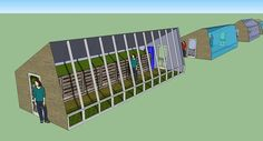 """Unless placed on a south facing slope, the low angle of the winter sun makes the walipini design less useful. Google """"Mike Oehler"""" earth bermed greenhouse"""" a more preferred design are the Passive solar greenhouses. using black water drums, or better still,composting greenhouse design by New Alchemy Institute . i'm trying to combine these designs and others for my own home greenhouse. Baldwin Organic Garden Share"""