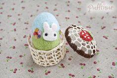 Needle Felted Easter Egg by li-sa