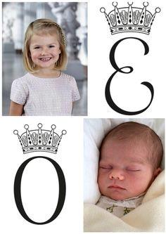 Princess Estelle & Princd Oscar of Sweden   @xuin10 (Instagram)