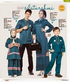 Baju Lebaran Keluarga 2014 | Cantik Berbaju Muslim