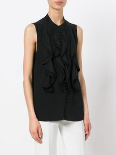Chloé bead embroidered blouse