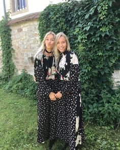 Lisaandlena at their friend's wedding