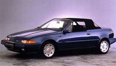 Volvo 480 Cabrio: Unfortunately never produced. Volvo Convertible, Volvo C70 T5, Traction Avant, Strange Cars, Cool Old Cars, Volvo Cars, Cabriolet, All Cars, Concept Cars