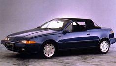 Volvo 480 Cabrio: Unfortunately never produced.