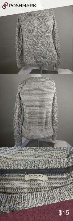 Sonoma cable knit sweater Great condition! Sonoma Sweaters