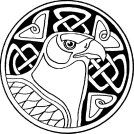 Celtic animal symbols - Hawk (clear vision, knowledge, decisiveness = perspective)