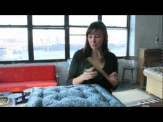 Krrb Presents A How-to on Adding Buttons to Upholstery with Tufting
