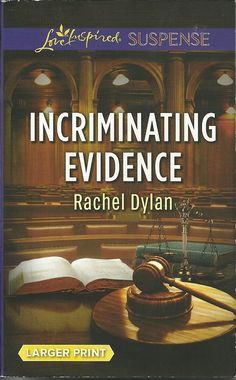 Product Details  •Title:  Incriminating Evidence •Author: Rachel Dylan •Mass Market Paperback: 284 pages •Publisher:  Love Inspired; Large Print edition (July 5, 2016) •Language: English •ISBN-10: 0373677650 •ISBN-13: 978-0373677658 •Product Dimensions:  4.2 x 0.8 x 6.6 inches •Condition: Very Good, no markings, tears, or rips. Tight Binding, soft cover shows some minor wear, Read Once and stored
