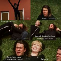 You can just hear Eliot thinking: What's wrong with you? #leverage #eliotspencer #parker