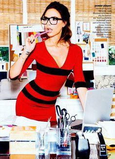 Victoria Beckham for Glamour UK Magazine, September 2012
