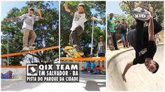 QIX Team no Parque da Cidade em Salvador – BA: QIX Team na skate plaza do Parque da Cidade em… #Skatevideos #cidade #parque #Salvador #team