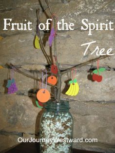 Fruit of the Spirit Tree | Our Journey Westward