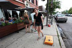 New Street Artist Bored Turns Chicago Sidewalks into an Alternative Monopoly Game