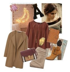 """""""Fall"""" by nia-georgieva on Polyvore featuring Urban Outfitters, WALL, Uniqlo, MANGO, Hollister Co., Steve Madden, Burberry, Cole Haan, Patricia Nash and Broste Copenhagen"""