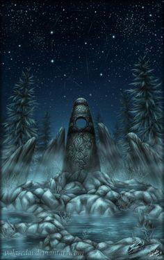The Atronach Stone by ValaSedai