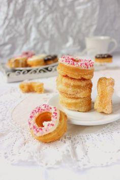 Кронъти с бутер тесто / Puff Pastry Cronuts