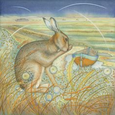 Hare sur les Marshes (imprimé et carte)