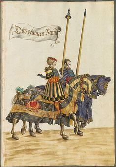 Hans Burgmair - Tournament Book - c.1540,