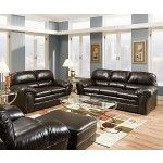 Simmons Upholstery - Riverside Bonded Leather Sofa And Loveseat Set - 6159-SL