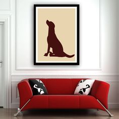 labrador print.I need this in my house!