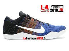 super popular 1915a 14ef6 Nike Kobe 11 Elite Low Bhm Black History Month Noir Multi-couleur  822522-914 Chaussure Basket Pas Cher Pour Homme